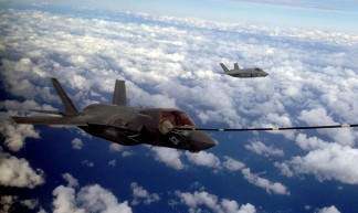 Marine Corps Joint Strike Fighter conducts first aerial refuel - CherryPoint