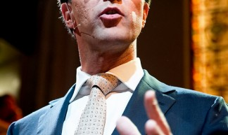 Mark Rutte bij verkiezingsgala in Paradiso - Newsphoto