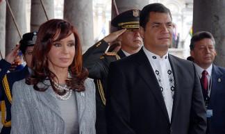 Palacio de Carondelet, visita de la Presidenta de la República de Argentina, Cristina Fernández de Kirchner. - Presidencia de la República del Ecuador