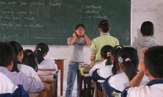 teaching a middle school class - Rex Pe