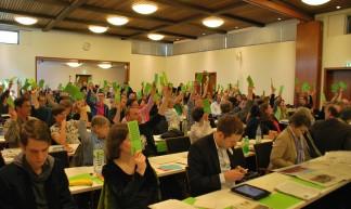 Wenn die Grünen abstimmen - grueneberlin