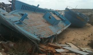 Lampedusa, barconi dei migranti - Carlo Alfredo Clerici