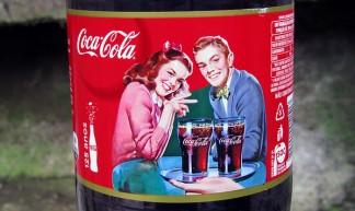 Coca-Cola 125 Anos 2 L art Serie de outubro 2011 Brasil - José Roitberg
