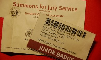 Jury duty - first time ever called - Jason