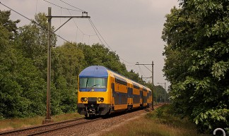 DDZ 7503, trein 5544 Brn-Uto, Soest Zuid - Daniël Bleumink