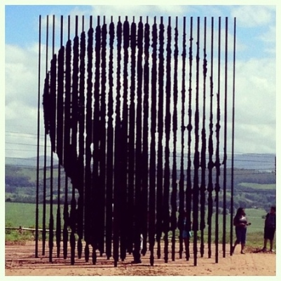 cc Flickr Darren Smith photostream Street art writ large Nelson Mandela The Midlands