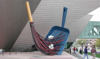 Broom and Dustpan - Cliff