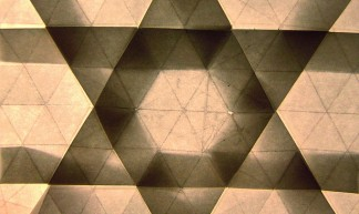 RIP, Mr. Wiesenthal. (6:3:3 tessellation tiling) - Eric Gjerde