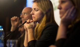 Marianne Thieme (Partidos Animalistas Europeos encuentro en Lisboa) - Partido Animalista  - PACMA -