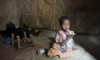 31 years old Lubaba Assefa and her son Tewfik Jemal-Tehuledere Woreda-South Wollo - UNICEF Ethiopia