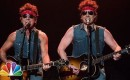 Jimmy Fallon en Bruce Springsteen doen parodie op Born To Run
