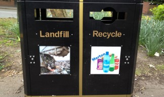 Recycling nudge in Wimbledon - Jeff Van Campen