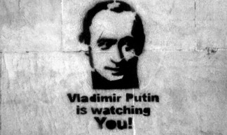 Vladimir Putin is watching you! - Jonathan Davis