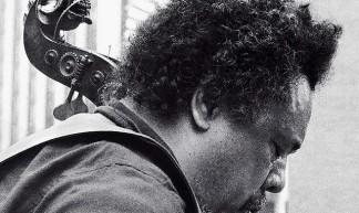 Charles Mingus' lion's head bass scroll - Tom Marcello
