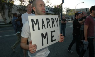Same-Sex Marriage Rally - WehoCity