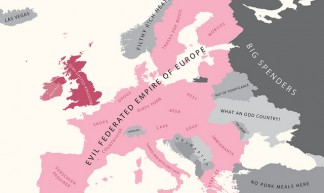 Europe According to Britain - alphadesigner