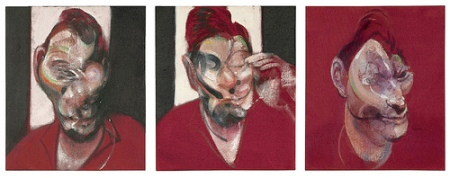 cc Flickr Cea.'s Photostream Francis Bacon - Three Studies for the Portrait of Lucian Freud (1964)