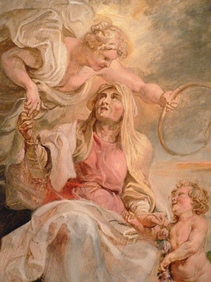 cc Flickr Mary Harrsch photostream Allegory of Eternity by Peter Paul Rubens