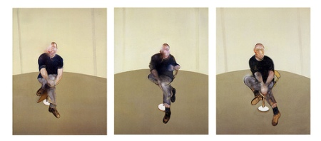 cc Flickr Photo Tractatus photostream Study for a Self-Portrait Triptych 1985-86 by Francis Bacon