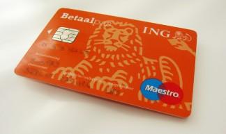 ING bank card - 24oranges.nl