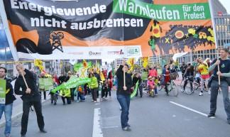Energiewende - Warmlaufen für den Protest - Uwe Hiksch