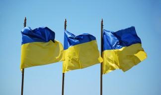 Ukrainian flags - Vladimir Yaitskiy
