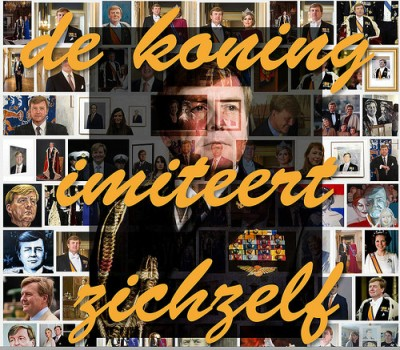 cc Flickr Imaginary Museum Projects Koning imiteert zichzelf