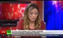 Nieuwslezeres Russia Today neemt live ontslag