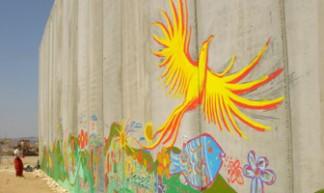 mediumbird - Wall in Palestine