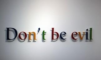 la FIAC aime Google - DOnt't be evil - tangi bertin