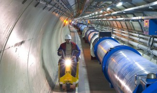 CERN / LHC tunnel - Ars  Electronica