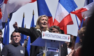 Meeting 1er mai 2012 Front National - Blandine Le Cain