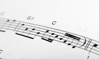 C scale notation over musical staff - Horia Varlan