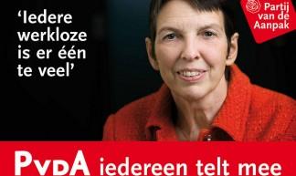 Jetta Klijnsma - postercampagne GR2010 - Partij van de Arbeid