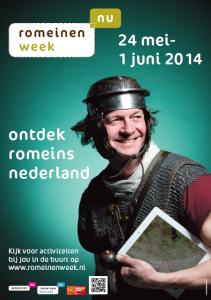 Romeinenweek-poster