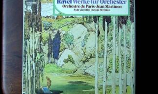 Ravel - Werke fur Orchester - Aldo Ciccolini Piano, Itzhak Perlman Violin, Orch. de Paris, Jean Martinon, EMI QUADRO - hans thijs