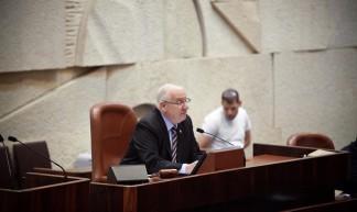 MK Reuven Rivlin speaking to the CODEL - jstreetdotorg