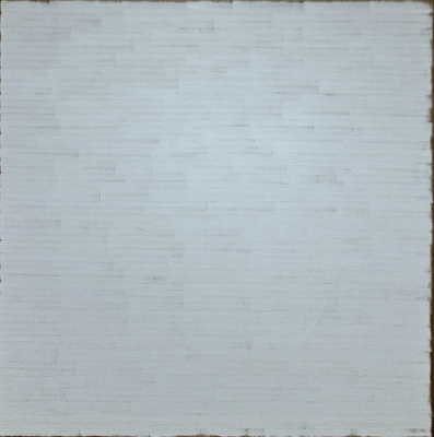 cc Flickr cliff1066™ photostream Untitled 1965-1966 oil on linen by Robert Ryman