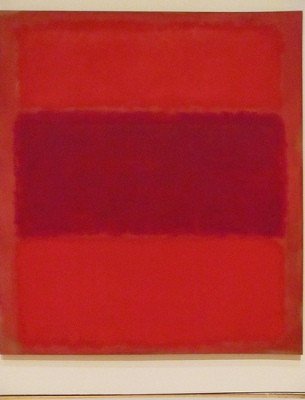 cc Flickr rocor photostream Mark Rothko No. 301 (Red and Violet over Red), 1959. Oil on canvas (1903-1970) Panza Collection. MOCA, LA