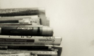 Stacked Newspapers - Binuri Ranasinghe