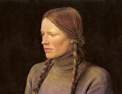 cc Flickr Mia Feigelson photostream Andrew Wyeth Braids (1979)