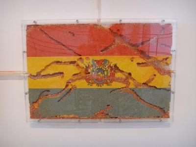 cc Flickr Wendy Tanner detail - Yukinori Yanagi - The World Flag Ant Farm, 2006