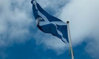 Schotse vlag - Andrys Stienstra