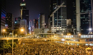 Hong Kong's Umbrella Revolution - Pasu Au Yeung