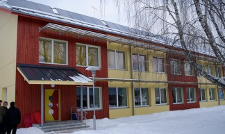 Refurbished with passive house components, kindergarten in Estonia Valga - Tõnu Mauring