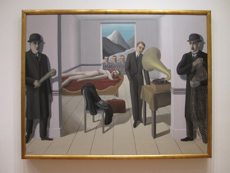 cc Flickr Alexis Tanukik photostream Magritte The Menaced Assassin 1927
