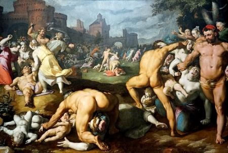 cc Flickr Dennis Jarvis phoyostream Netherlands-4275 Massacre of the Innocents Cornelis Cornelisz van Haarlem, 1590