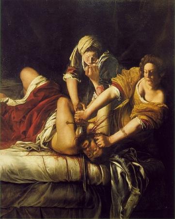 cc Flickr FLORENCEandTUSCANYtours Artemisia Gentileschi - Judith and Holofernes