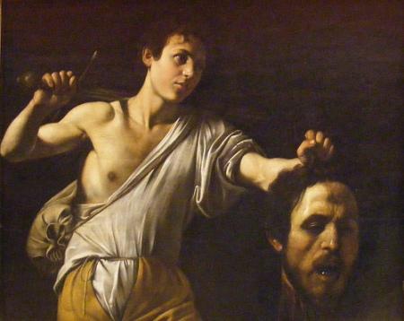 cc Flickr John W. Schulze photostream Caravaggio, David with Goliath's Head