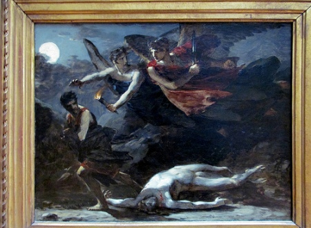 cc Flickr rocor photostream Pierre-Paul Prud'hon Justice and Divine Vengeance Pursuing Crime, 1805